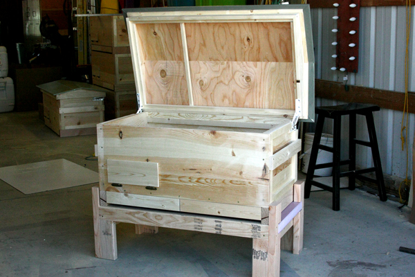 The Valkyrie Long Hive Built With Love For Bees And Their